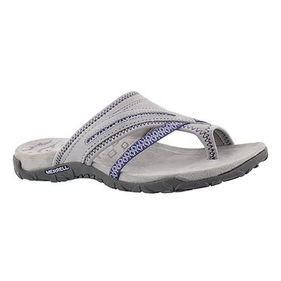 Merrell Women's TERRAN POST II sleet toe wrap sandals