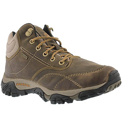 Merrell Men's MOAB ROVER MID brn waterproof hiking shoes