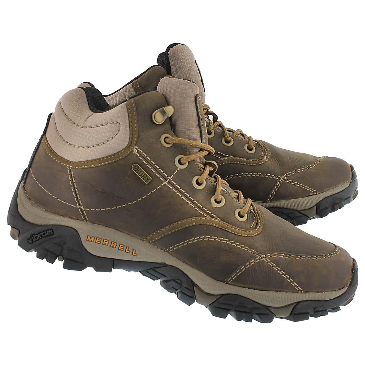 Mns Moab Rover Mid brn wtpf hiking shoe