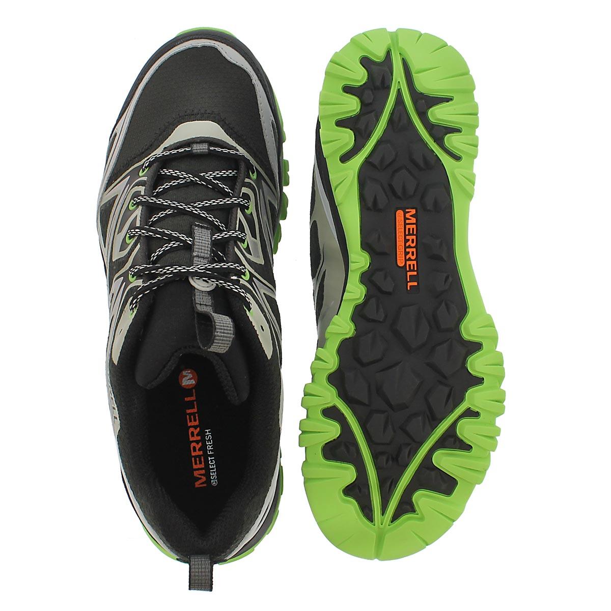 Mns Capra Bolt black/silver hiking shoe
