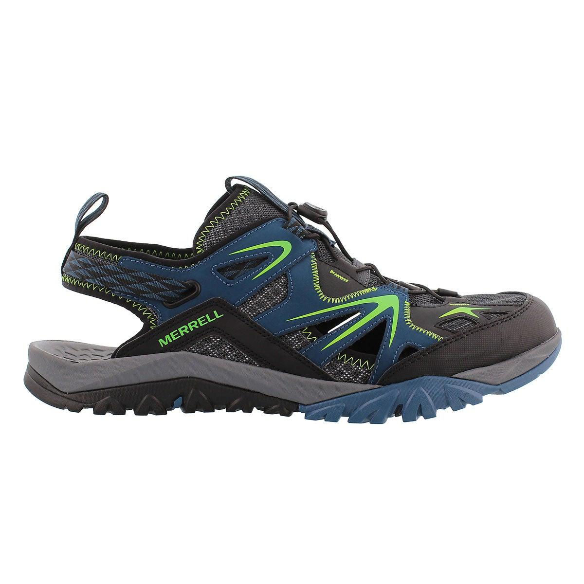 Mns Capra Rapid bright blue sieve sandal