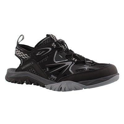 Mns Capra Rapid black sieve sandal
