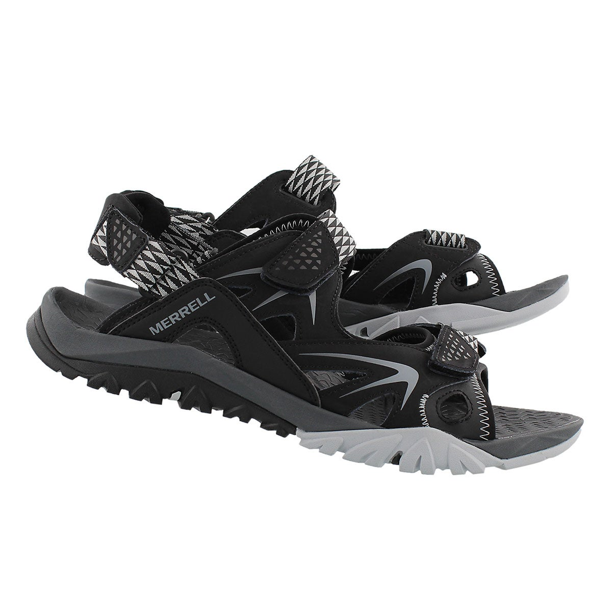 Mns Capra Rapid black sandal
