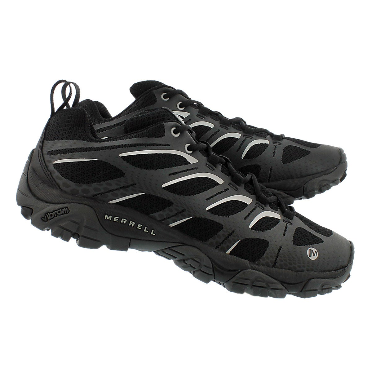 Mns MoabEdge blk/gry casual hiking shoe