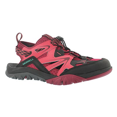 Lds Capra Rapid bright red sieve sandal