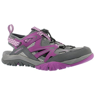 Merrell Women's CAPRA RAPID SIEVE purple/grey sandals