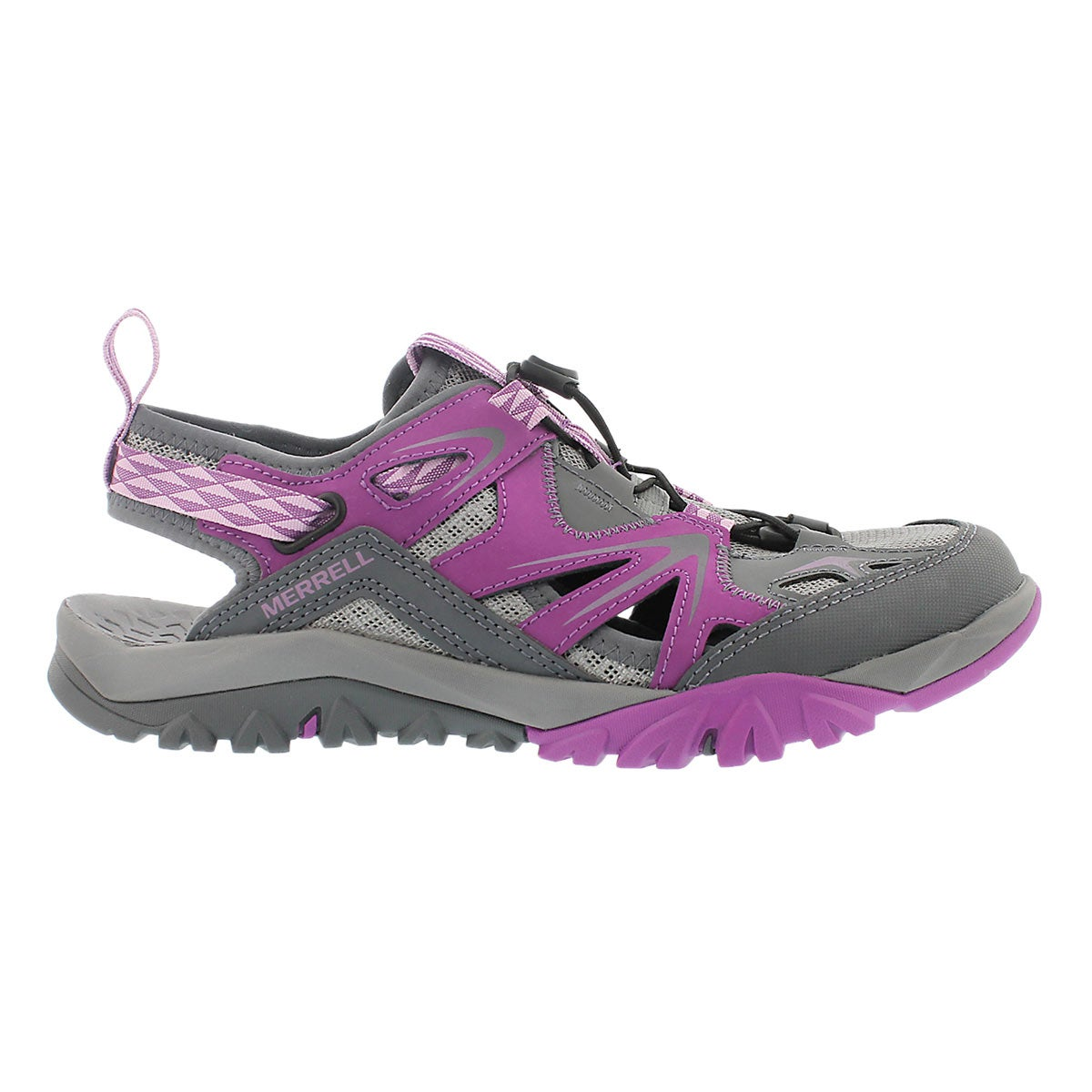 Sandale Capra Rapid, violet/gris, femmes