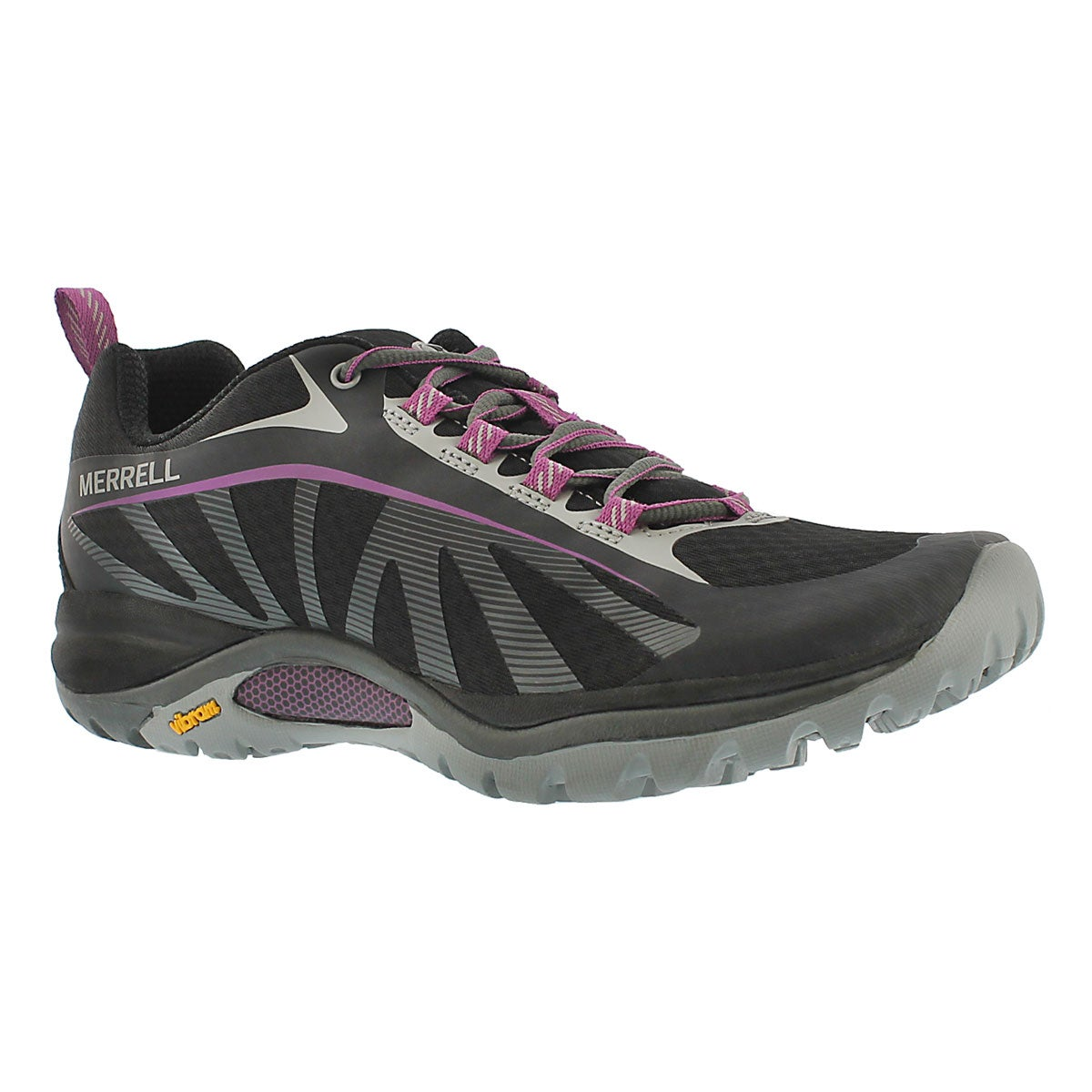Lds Siren Edge blk/purple hiking shoe