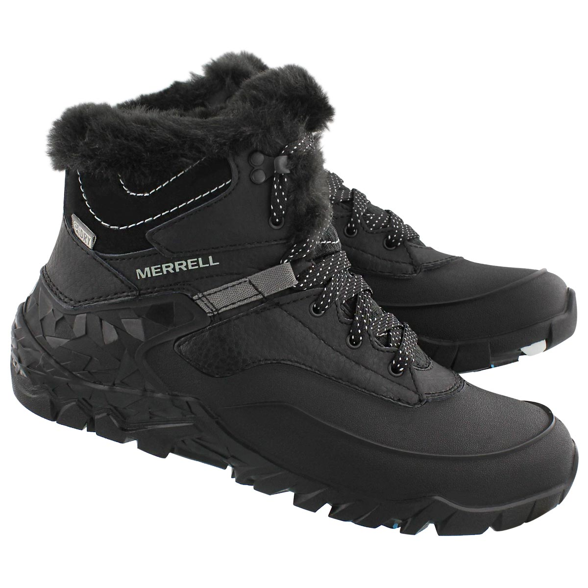 Lds Aurora 6 Ice blk wtpf winter boot