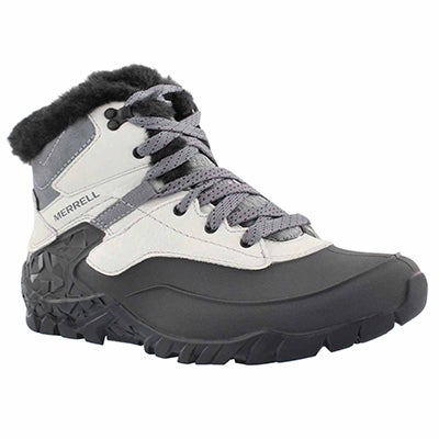 Merrell Women's AURORA 6 ICE ash waterproof winter boots