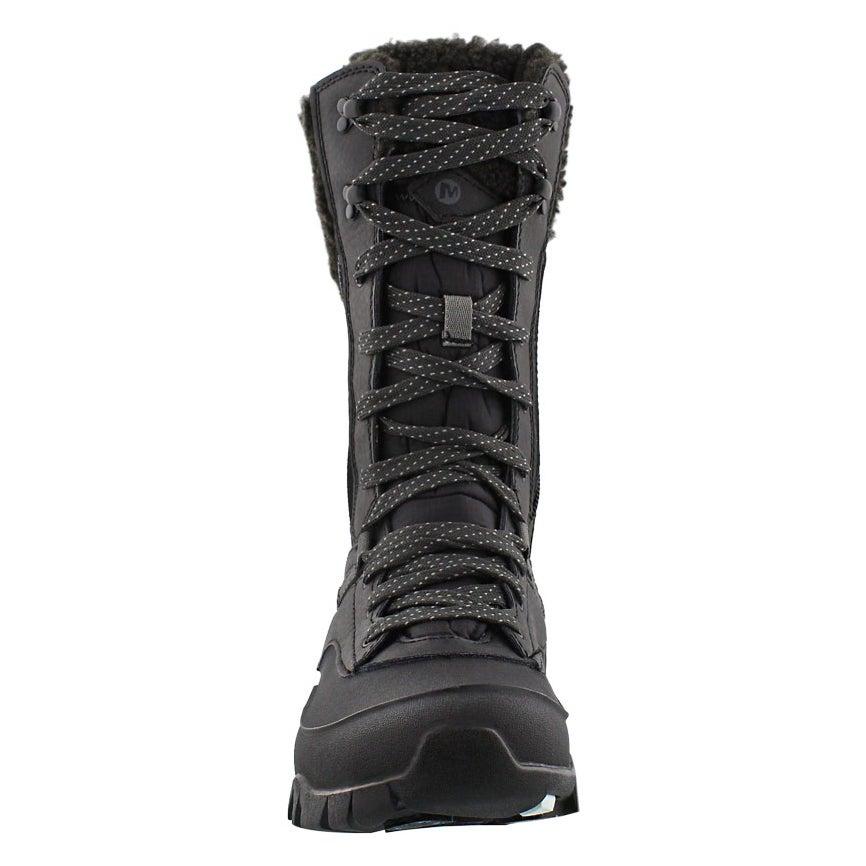 Lds Aurora Tall Ice blk wtpf winter boot