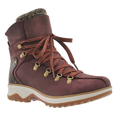 Merrell Women's EVENTYR RIDGE wine waterproof winter boots