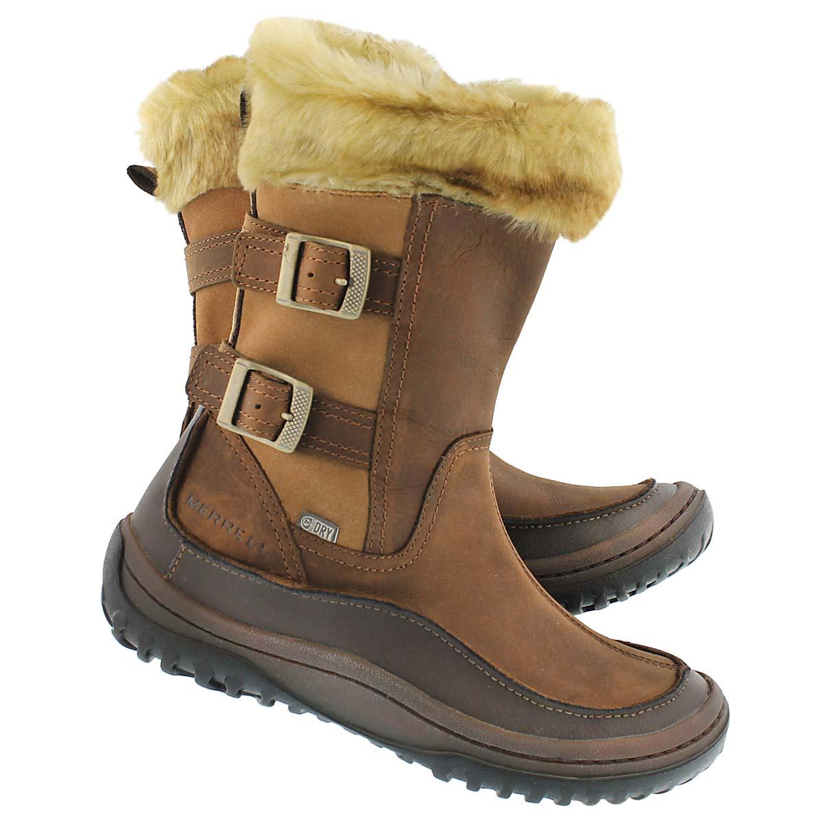 Lds Chant brn sugar wtrpf winter boot