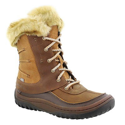 Merrell Women's SONATA brn sugar waterproof winter boots