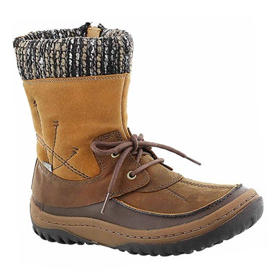 Merrell Women's BOLERO brown sugar waterproof winter boots