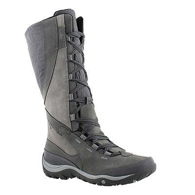 Merrell Women's DEWBROOK PEAK grey tall waterproof boots