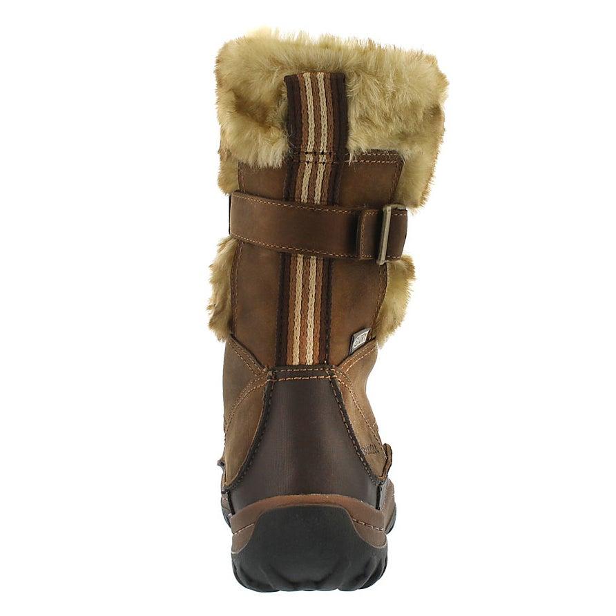 Lds Motif brn sugar wtrpf winter boot