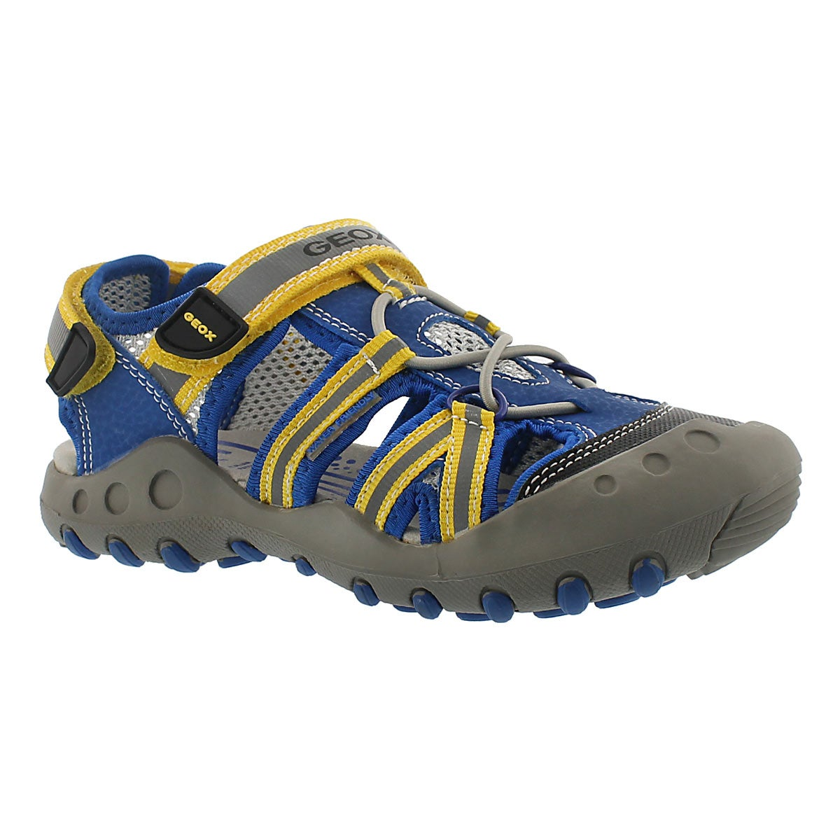 Boys' KYLE blue/yellow fisherman sandals
