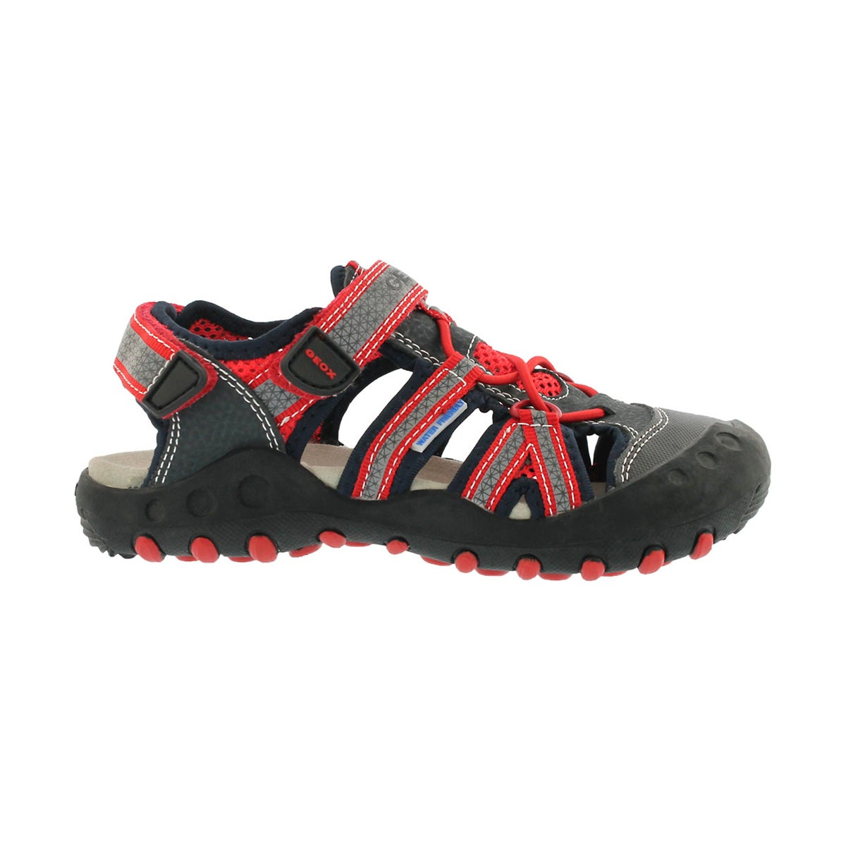 Bys Kyle navy/red closed toe sandal