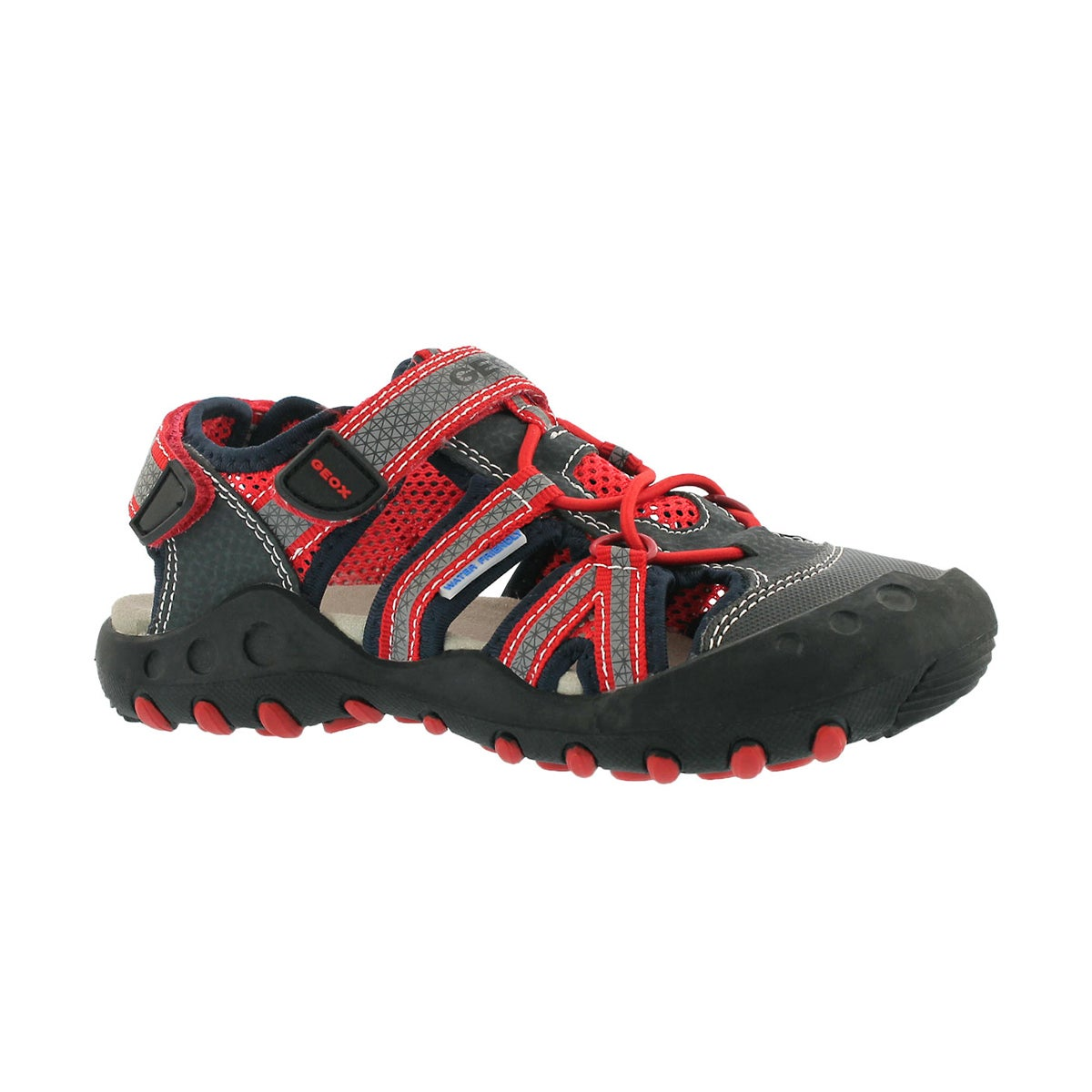 Boys' KYLE navy/red fisherman sandals