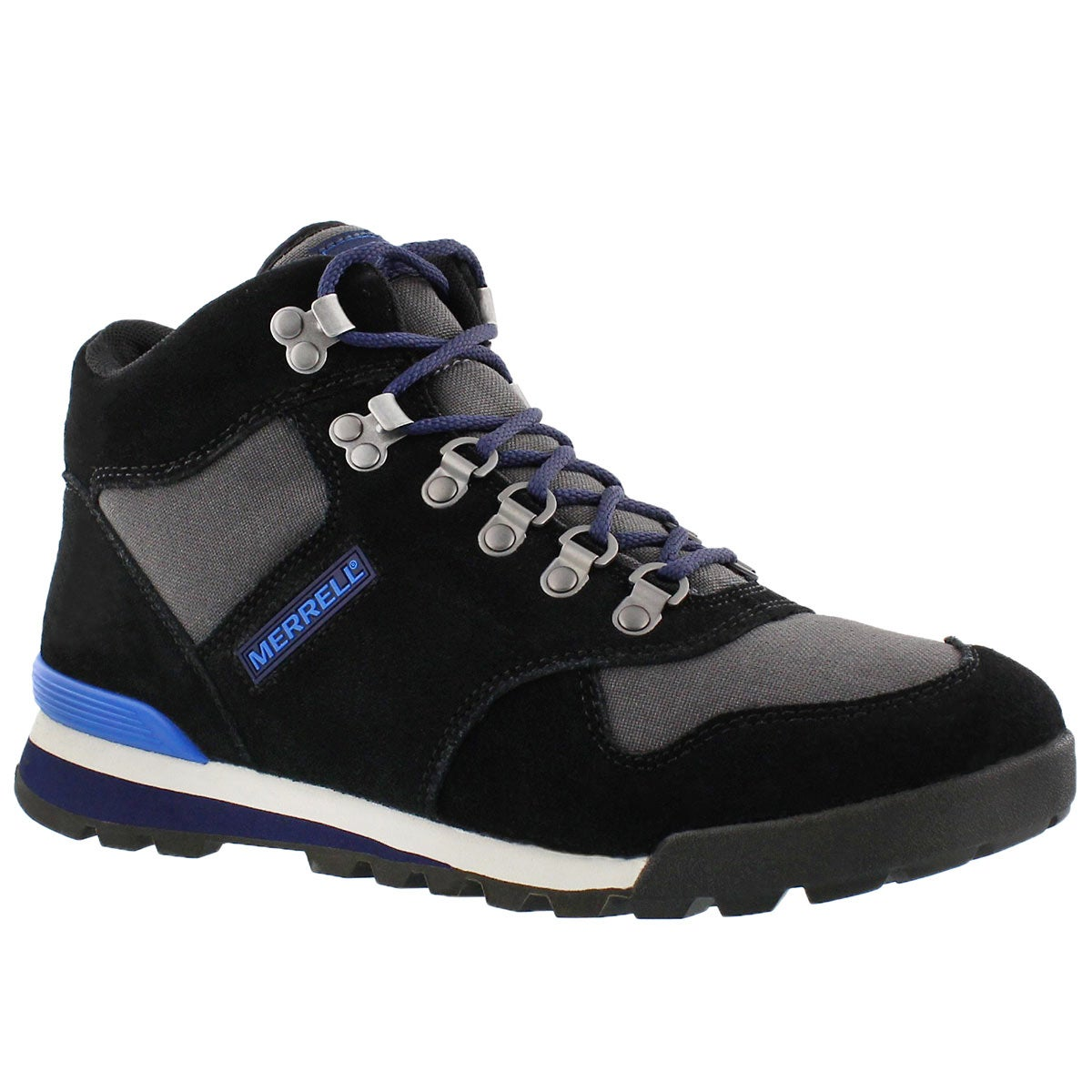 Mns Eagle black hiking ankle boot