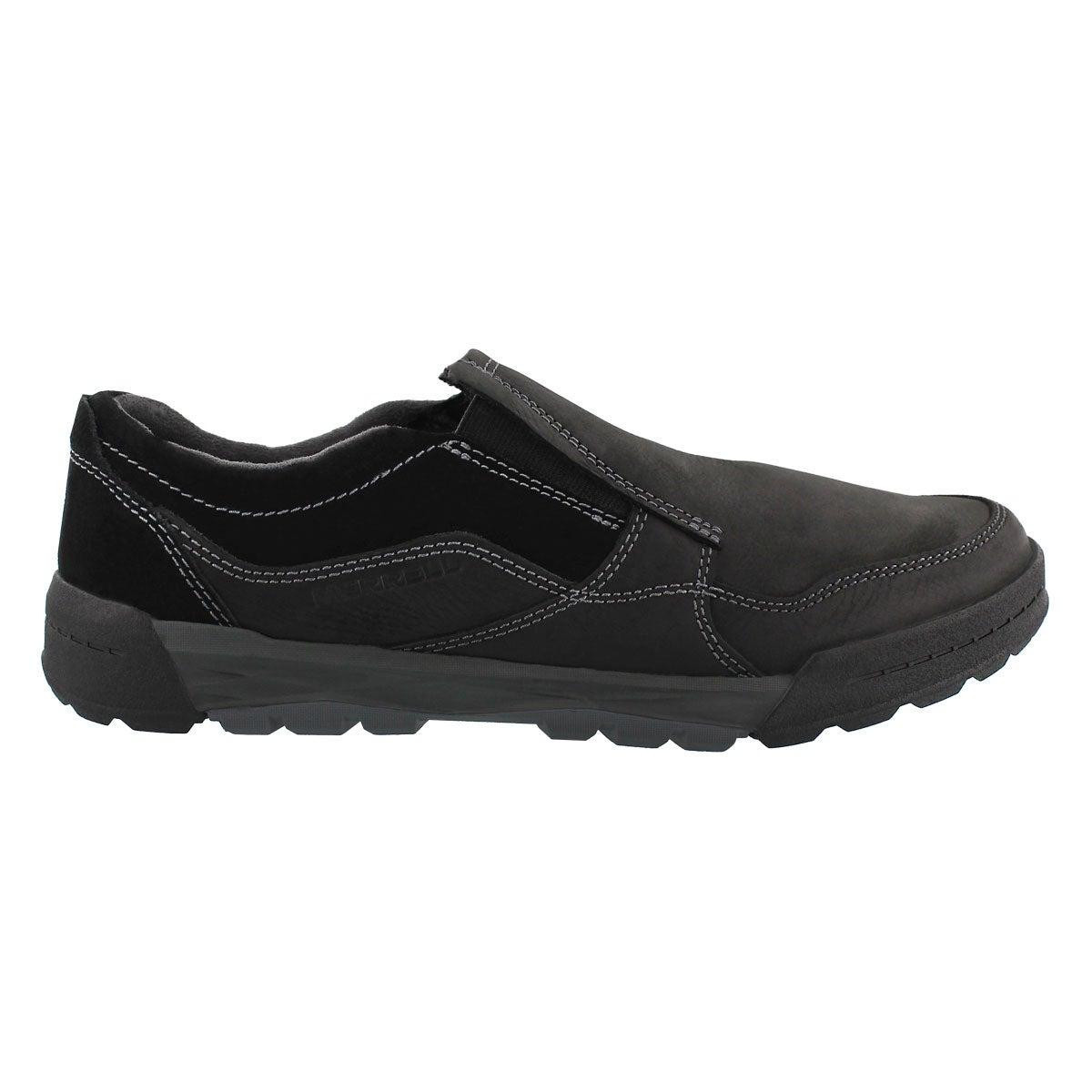 Mns Berner Moc black casual slip on