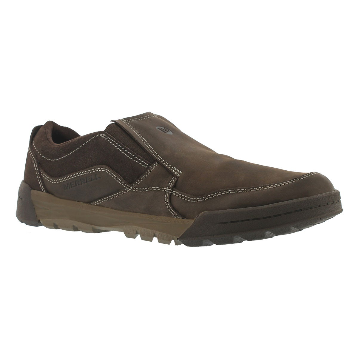 Mns Berner Moc espresso casual slip on
