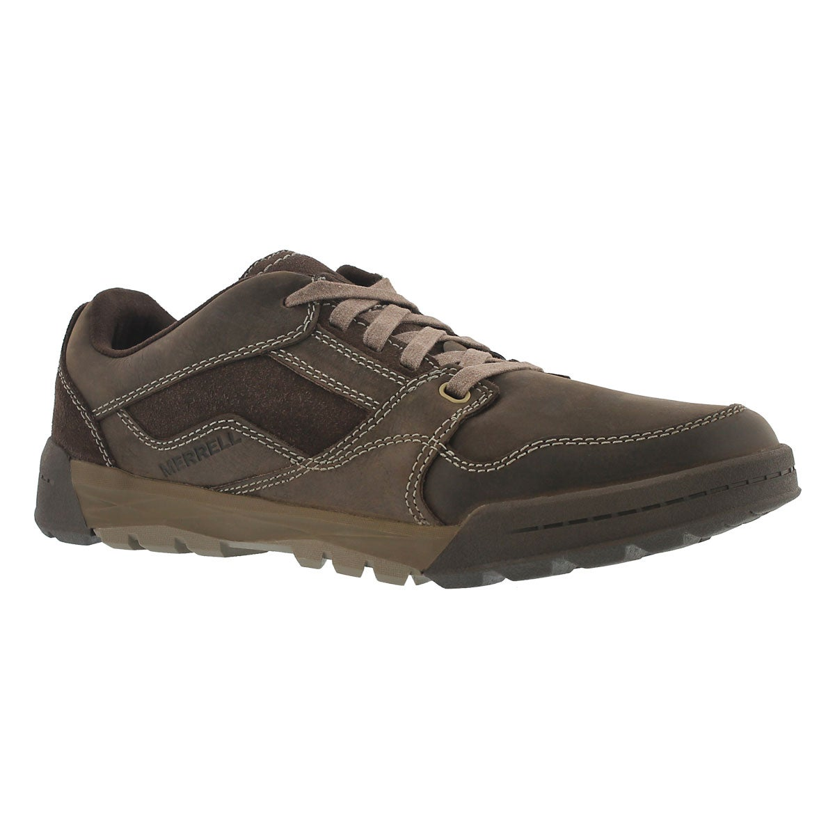Men's BERNER LACE espresso hiking shoes