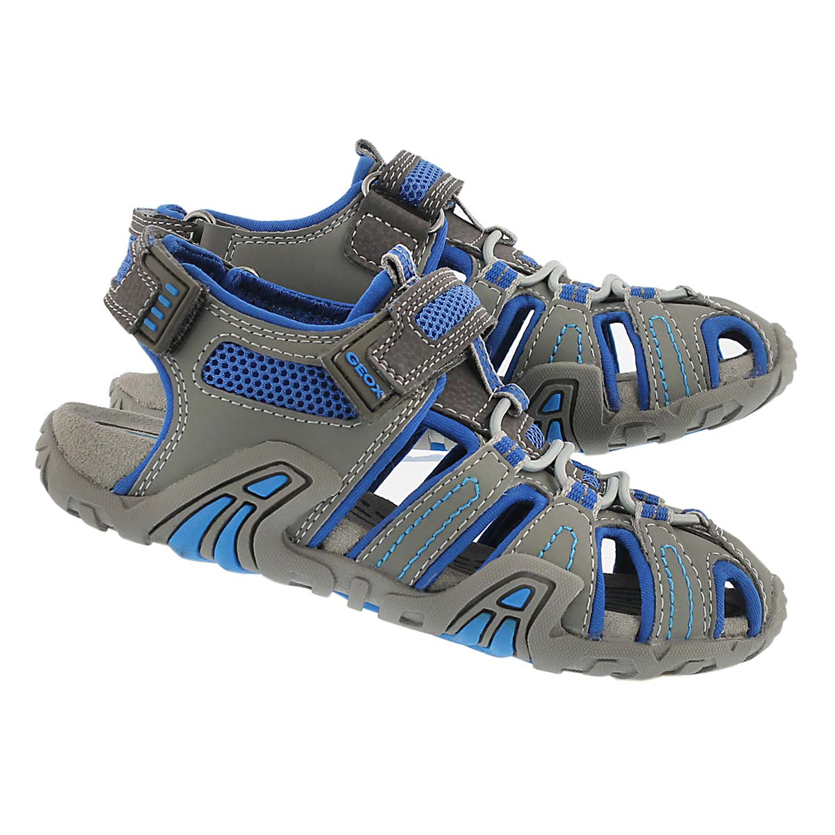 Sandale pêcheur KRAZE, gris/bleu, garçon