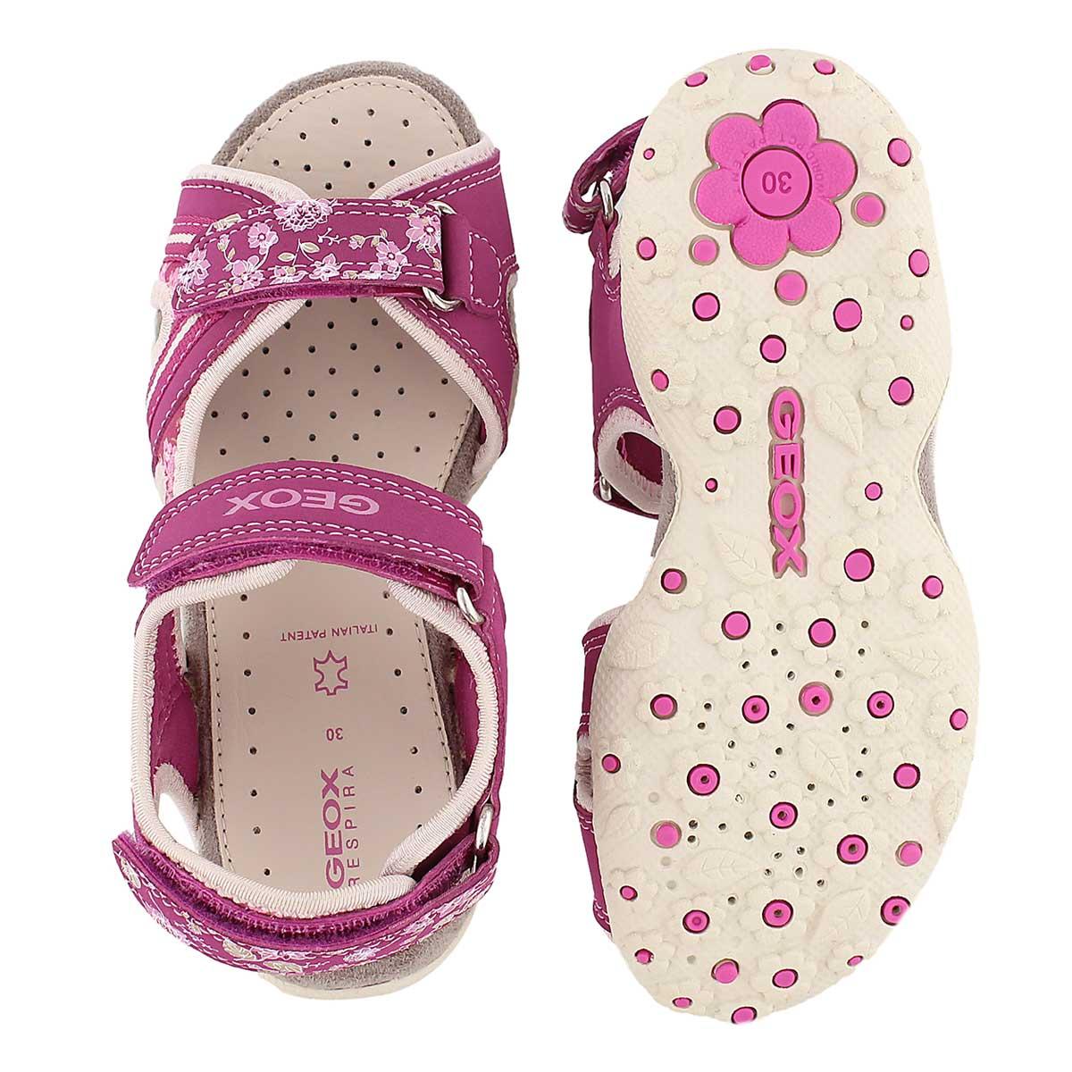 Sandale sport ROXANNE, fuchsia, fillles