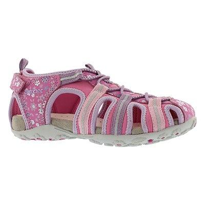 Grls Roxanne fuchs/lilc closedtoe sandal
