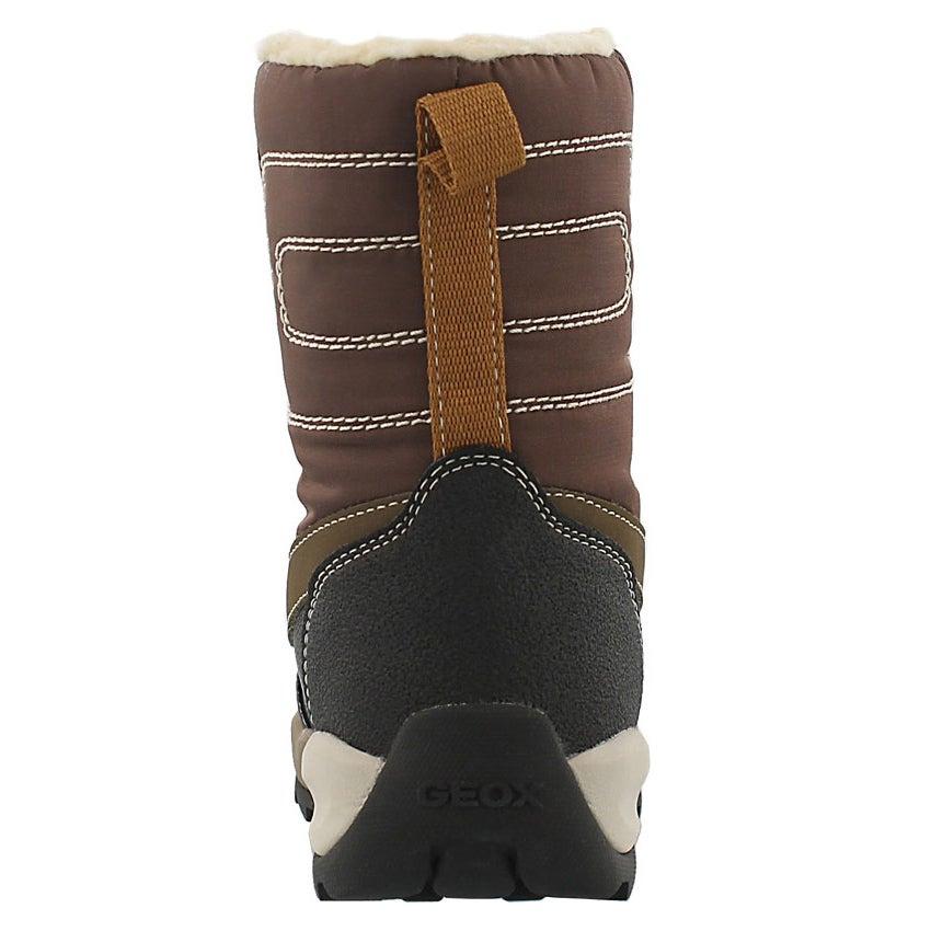 Bys Orizont coffee/blk wtpf winter boot
