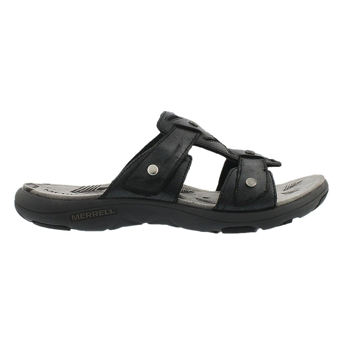 Sandale à enfiler AdheraSlide, noir, fem