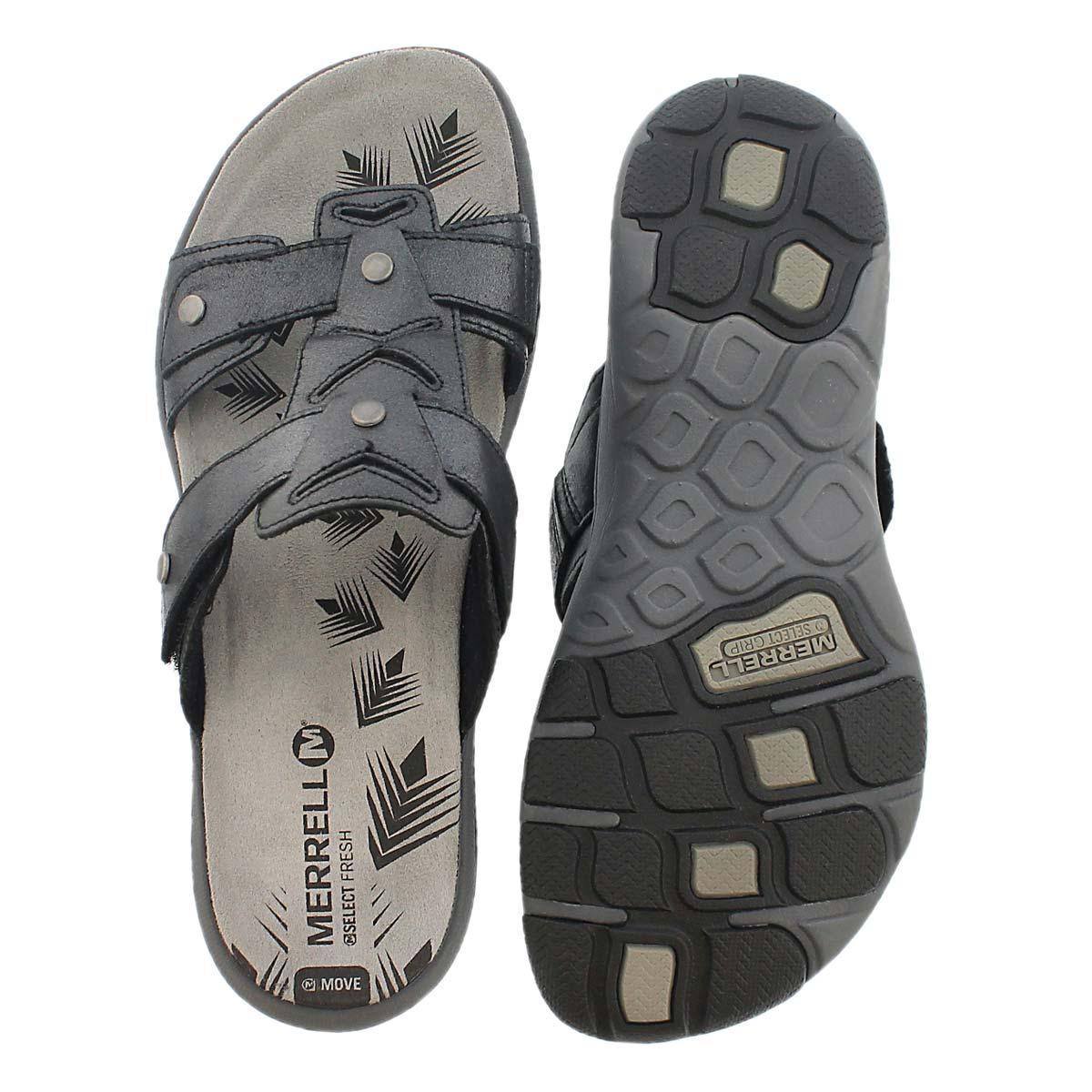 Sandale � enfiler AdheraSlide, noir, fem