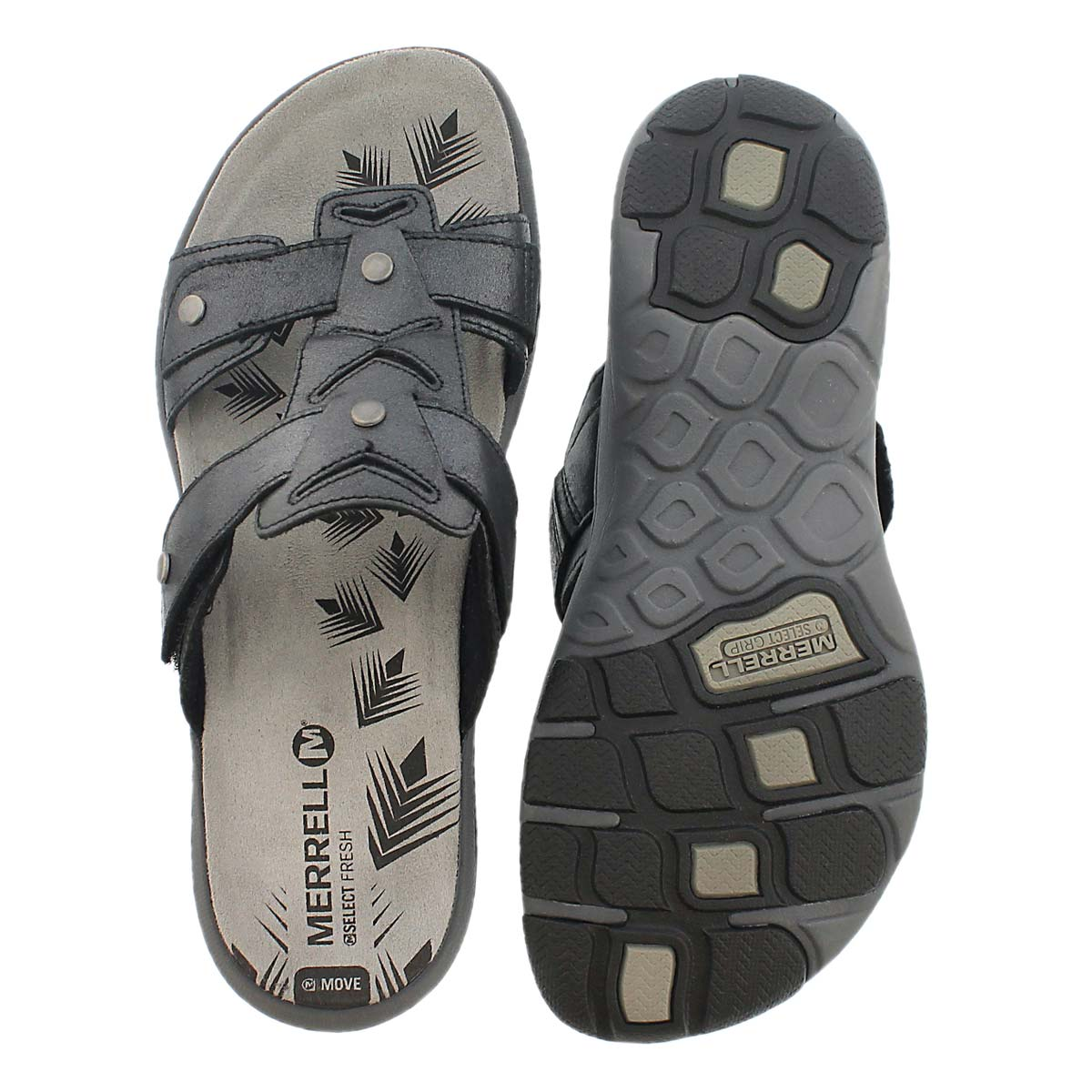 Lds Adhera Slide blk casual slide sandal