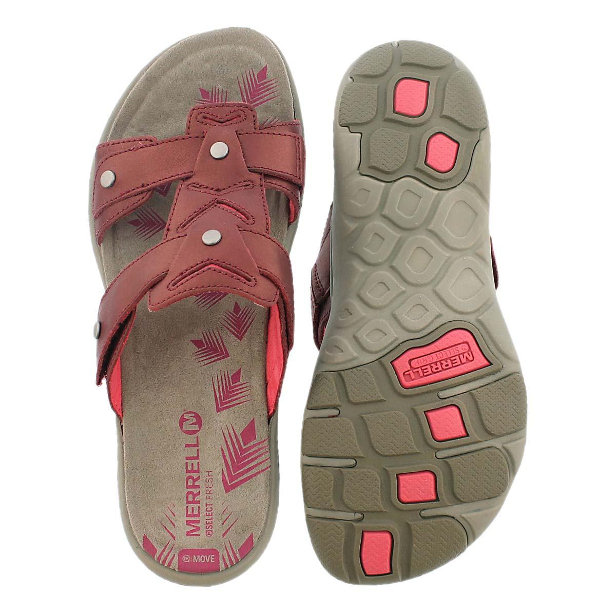 Lds Adhera Slide red casual slide sandal