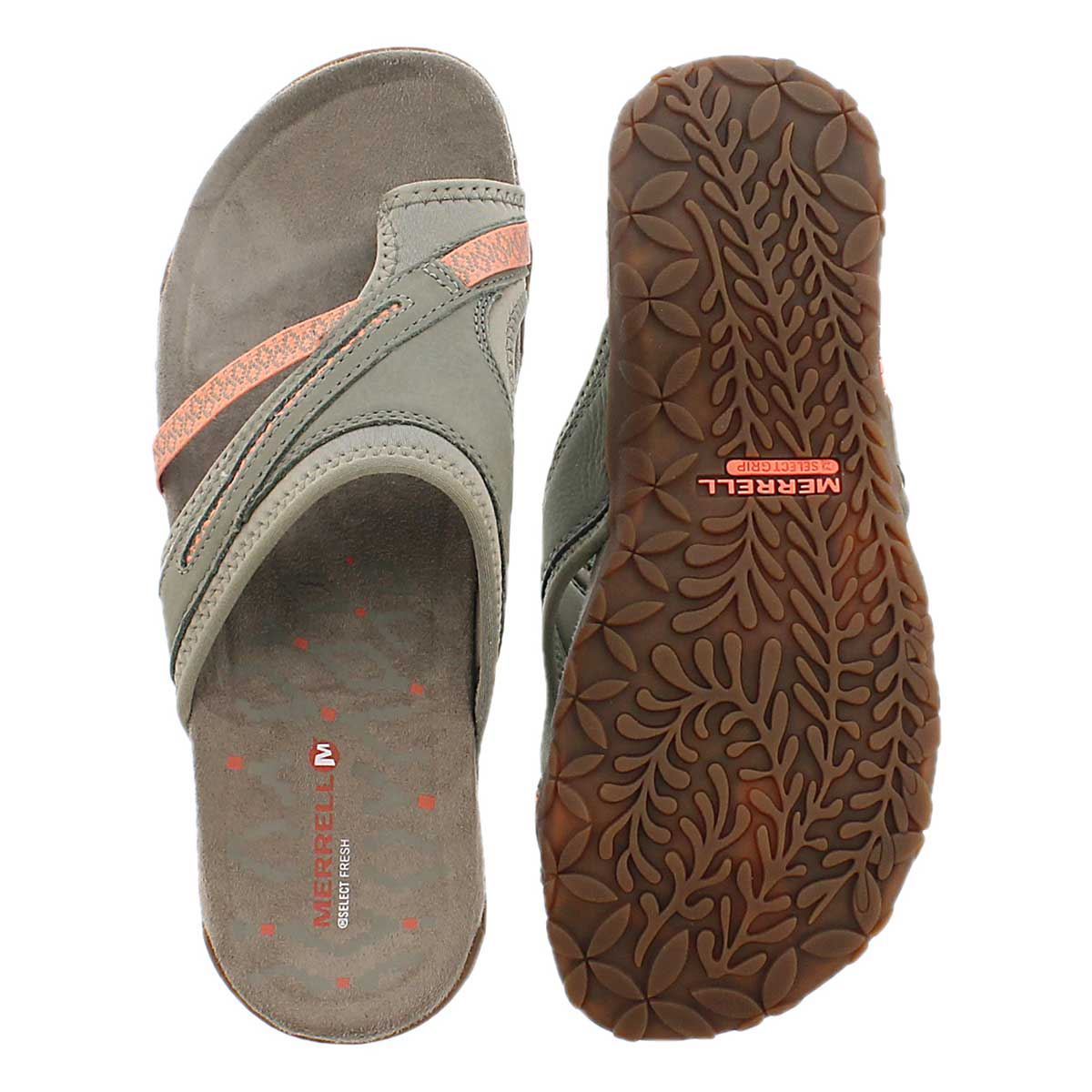 Lds Terran Post II putty toe wrap sandal