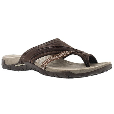Merrell Women's TERRAN POST II earth toe wrap sandals