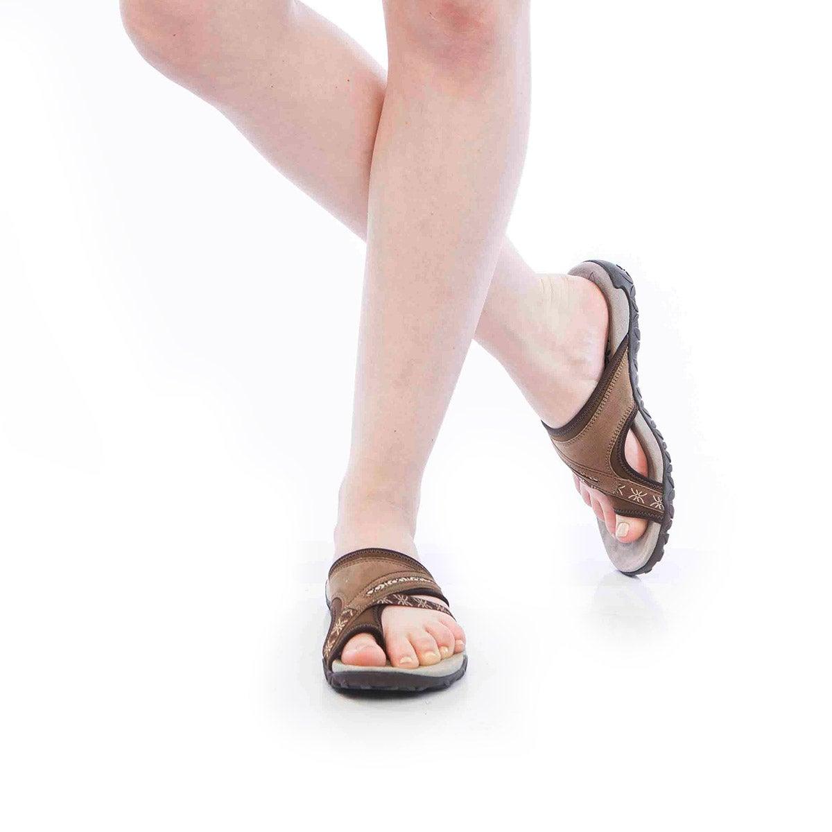 Lds Terran Post II earth toe wrap sandal