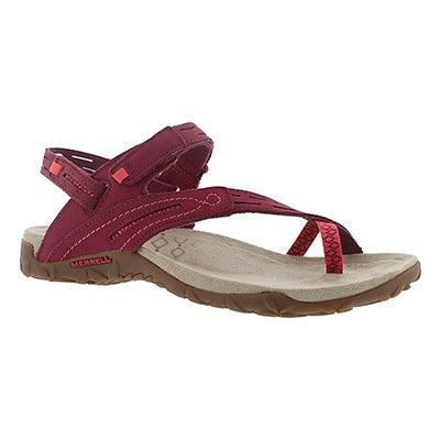 Merrell Women's TERRAN CONVERTIBLE II fuchsia sandals