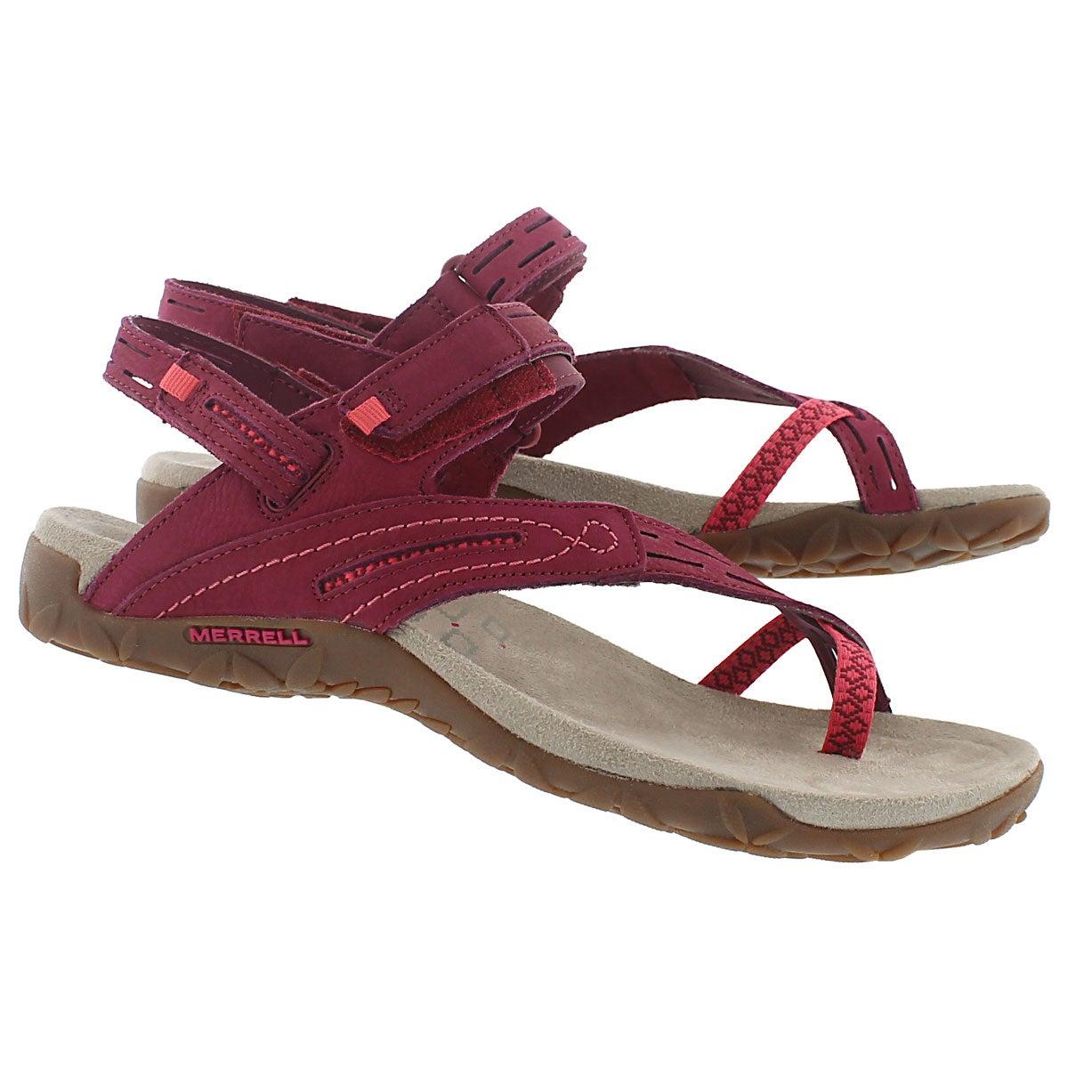 Lds Terran Convertible II fuchsia sandal