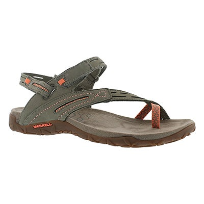 Merrell Women's TERRAN CONVERTIBLE II putty sandals