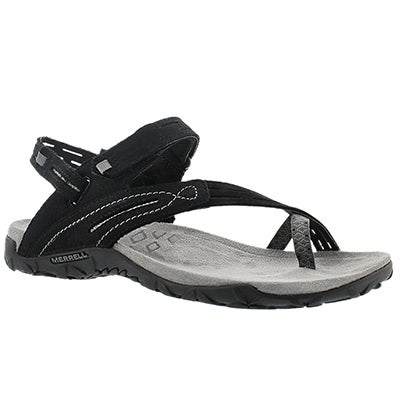 Merrell Women's TERRAN CONVERTIBLE II black sandals