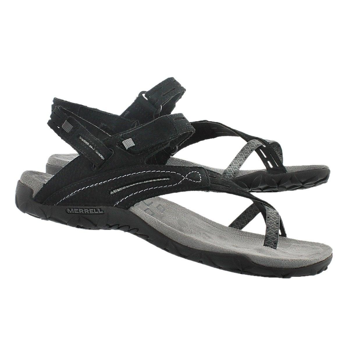 Lds Terran Convertible II black sandal
