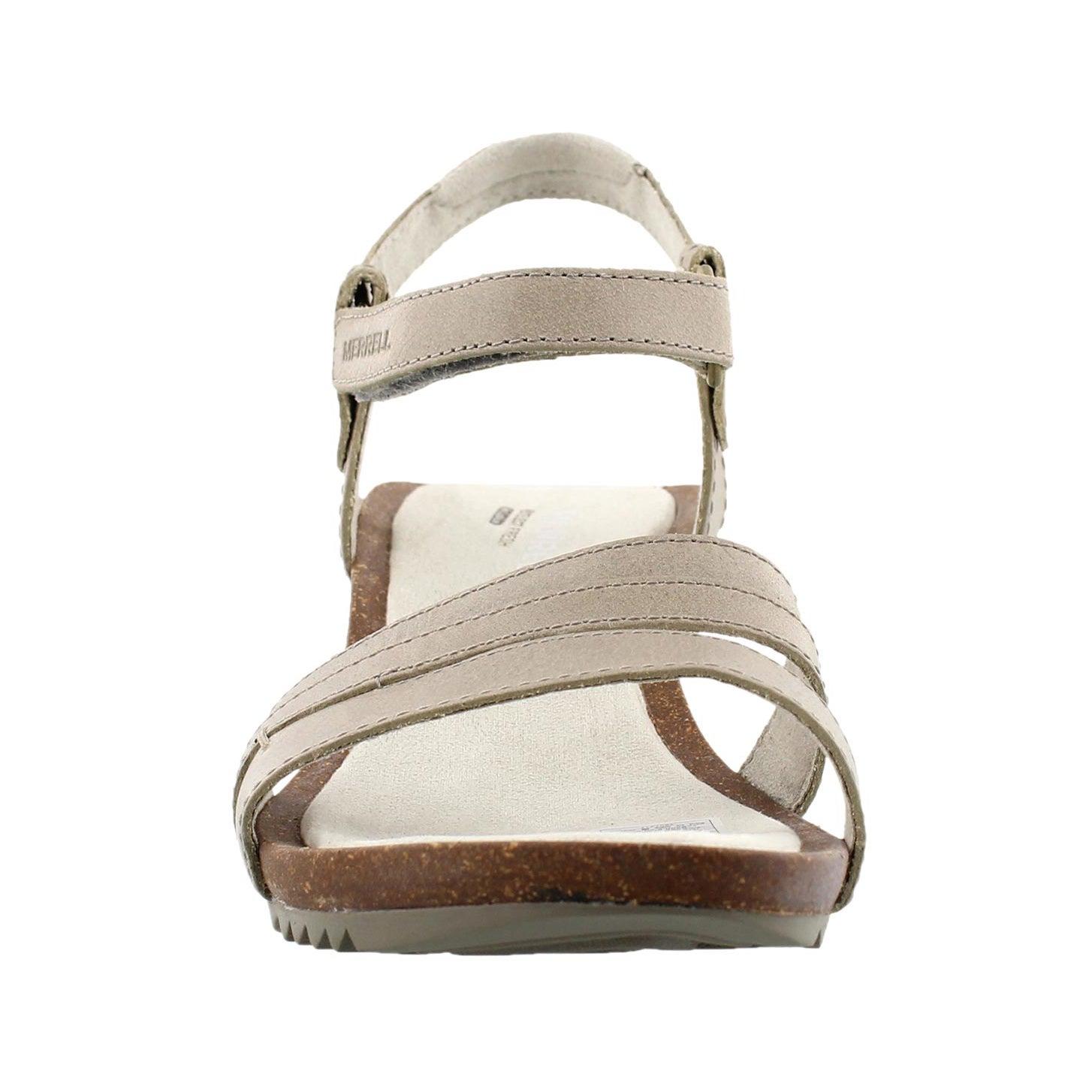 Lds Revalli Aura Strap gry wedge sandal