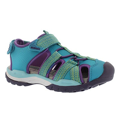 Geox Girls' BOREALIS watersea fisherman sandals