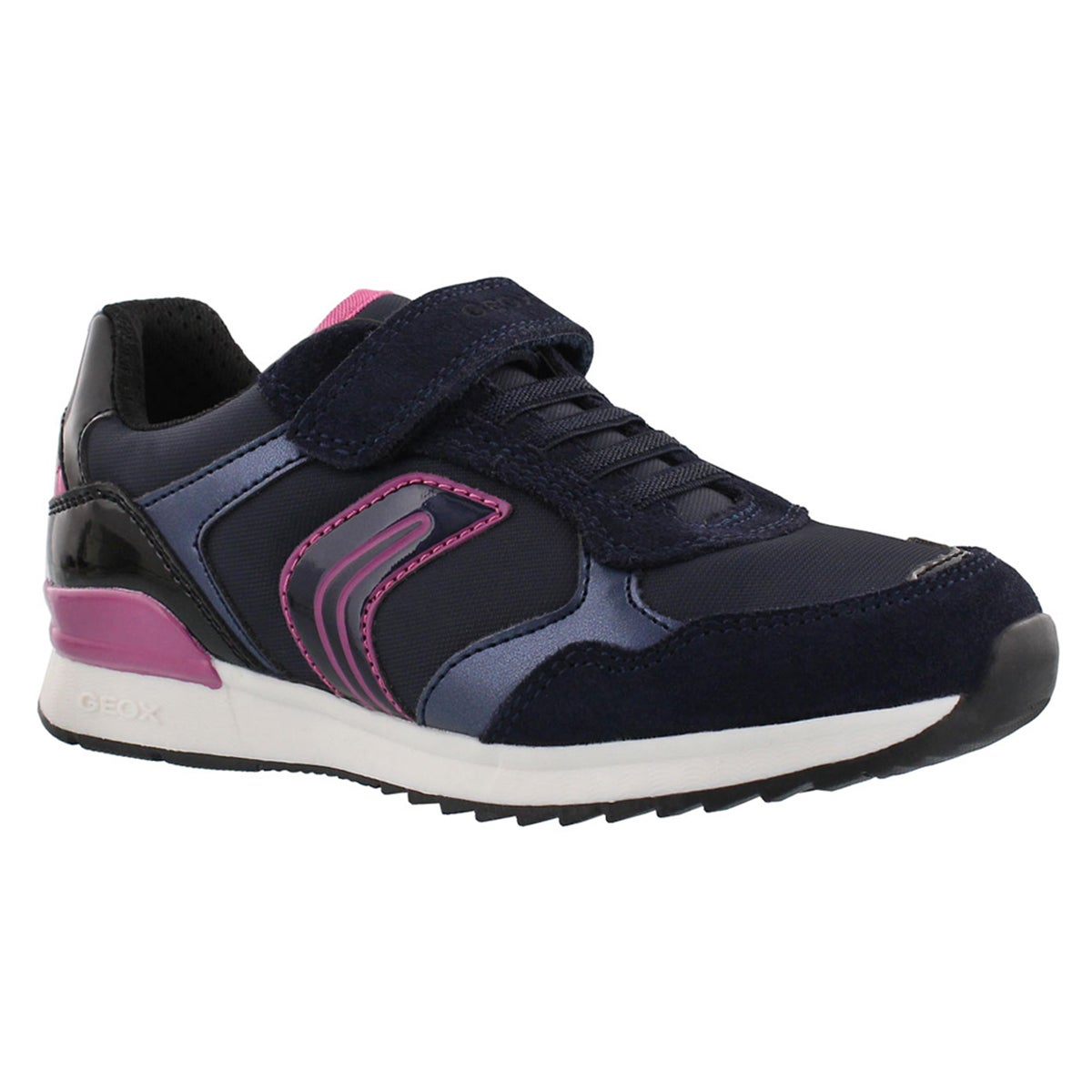 Grls Maisie dark navy athletic sneaker