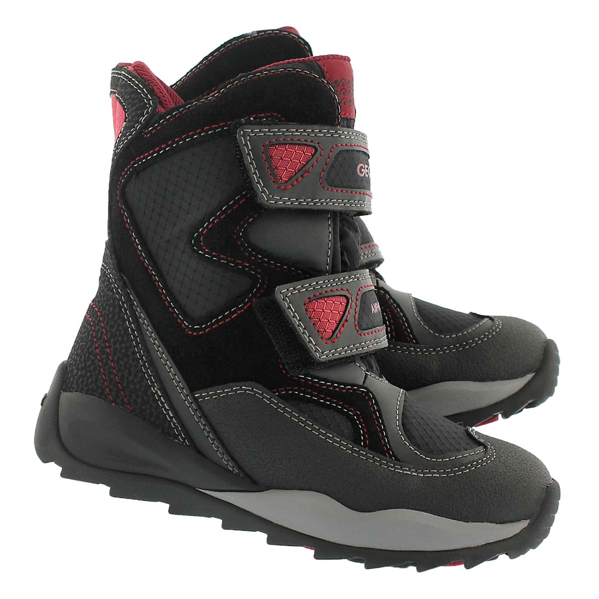 Bys Orizont blk/red wtpf winter boot