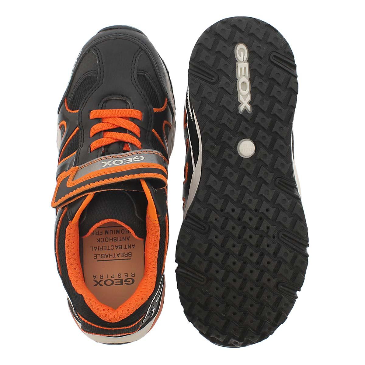 Bys Bernie black/orange sneaker