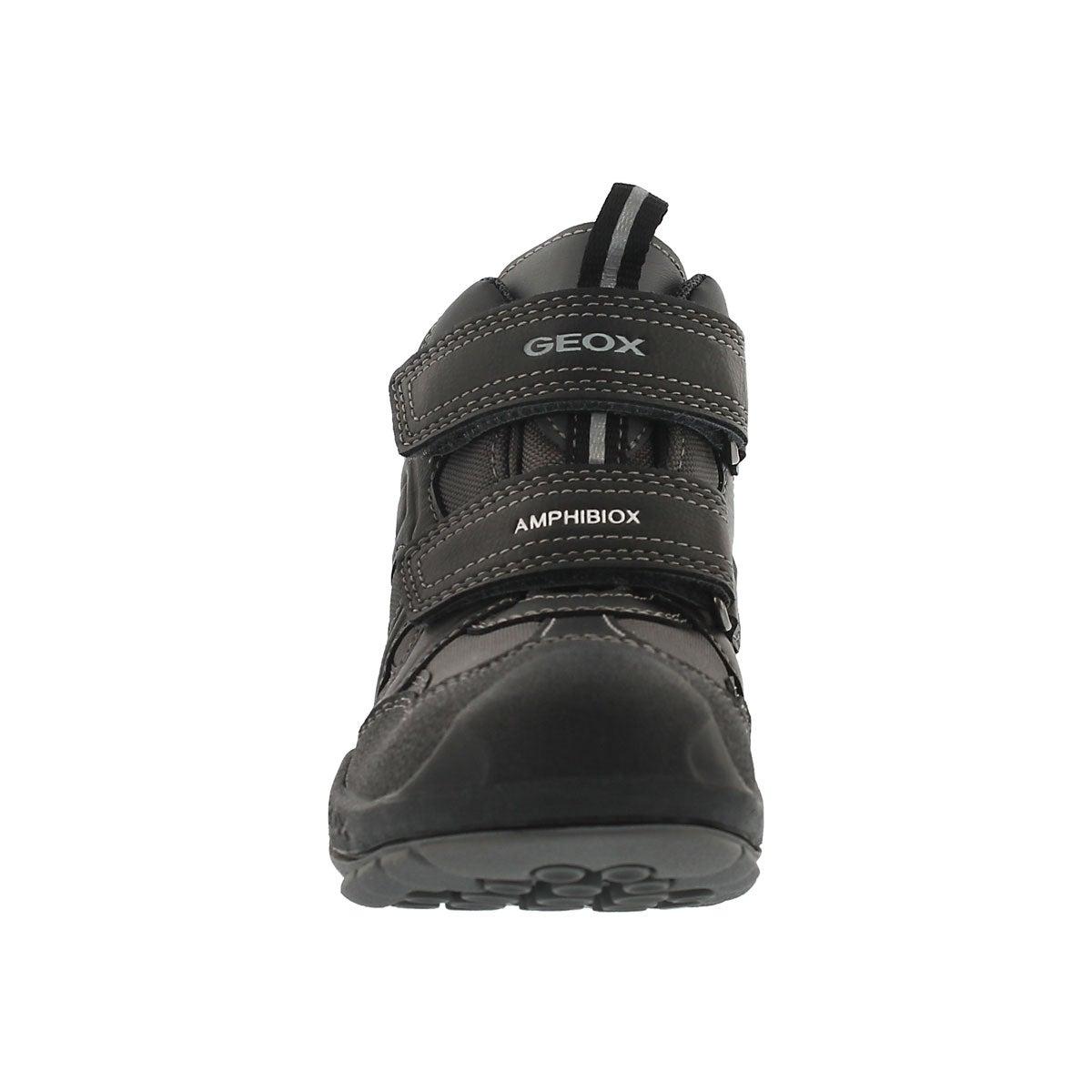 Bys New Savage gry/blk hi-top sneaker